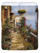 Bello Terrazzo Duvet Cover