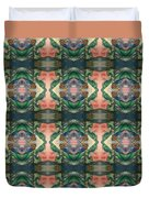 Belly Dance Mirror Image Duvet Cover