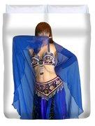 Belly Dance Modeling. Sofia Of Ameynra Duvet Cover