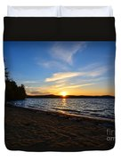 Belmont Nh Beach Duvet Cover