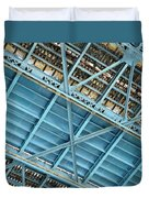 Below The Bridge Duvet Cover
