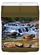 Below Toccoa Falls Duvet Cover