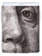 Ben Franklin Duvet Cover