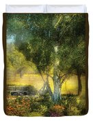 Bench - I Had This Dream And It All Began Duvet Cover