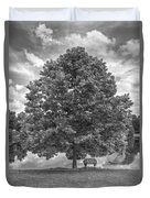 Bench Under A Tree Duvet Cover
