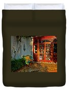 Benched In Fairhope Alabama Duvet Cover