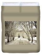 Beneath The Branches Duvet Cover