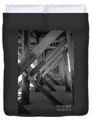 Beneath The Docks Day Duvet Cover