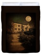 Beneath The Perigree Moon Duvet Cover