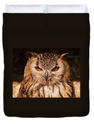 Bengal Owl Duvet Cover
