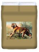 Bengal Tiger, Endangered Species Duvet Cover