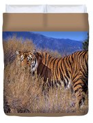 Bengal Tiger Endangered Species Wildlife Rescue Duvet Cover