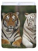 Bengal Tiger Team Duvet Cover