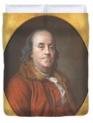 Benjamin Franklin Duvet Cover