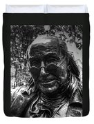 Benjamin Franklin Memorial Duvet Cover