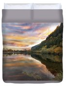 Benson State Recreation Area In Fall Duvet Cover