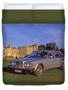 Bentley Automobile Duvet Cover