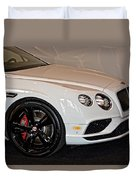 Bentley Continental Gt V8s Duvet Cover