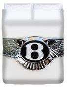 Bentley Emblem -0081c Duvet Cover