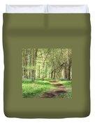 Bentley Woods, Warwickshire #landscape Duvet Cover