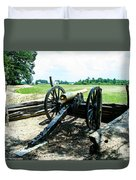 Bentonville Nc Confederate Artillery Duvet Cover