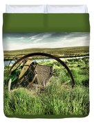 Bereft On The Grasslands T Duvet Cover