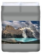 Berg Lake, Mount Robson Provincial Park Duvet Cover