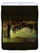 Berkley Pier California Duvet Cover
