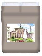 Berlin Brandenburg Gate Duvet Cover
