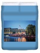 Berlin - Capital Beach Bar Duvet Cover