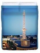 Berlin - Funkturm Duvet Cover