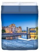 Berlin Government District Duvet Cover