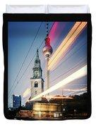Berlin - Karl-liebknecht-strasse Duvet Cover