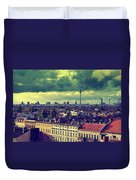 Berlin Roofscape Duvet Cover