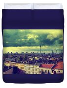 Berlin Skyline And Roofscape Duvet Cover