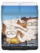 Berlin - Street Art Duvet Cover