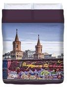 Berlin Wall Duvet Cover