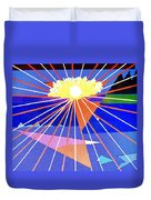 Bermuda Sunset Duvet Cover