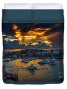 Bermuda Sunset Duvet Cover