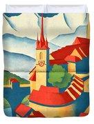 Berne Switzerland - Folded Duvet Cover