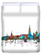 Berne Switzerland Skyline Duvet Cover