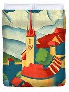 Berne Switzerland - Vintagelized Duvet Cover