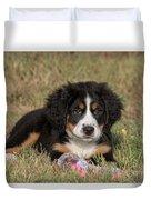 Bernese Mountain Dog Puppy Duvet Cover