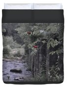 Berries On A Branch Duvet Cover