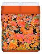 Berry Aronia Duvet Cover
