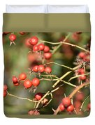 Berry Christmas  Duvet Cover