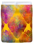 Berry Hearts - Food Pattern Duvet Cover