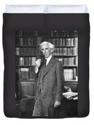 Bertrand Russell Duvet Cover