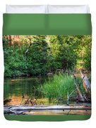 Beside The River Duvet Cover