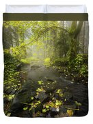 Beside The Stream Duvet Cover